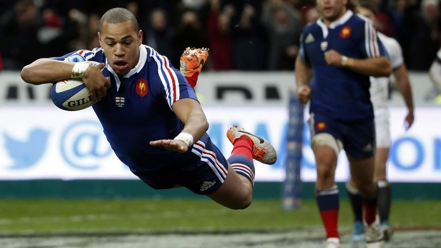 Gaël Fickou inscrit l'essai décisif pour offrir le Crunch au XV de France