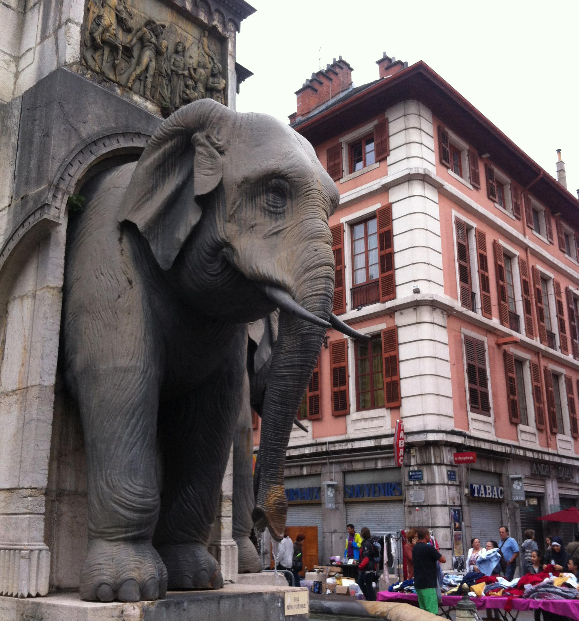 Dans quelques semaines, les éléphants de Chambéry seront gouvernés par de nouveaux élus.