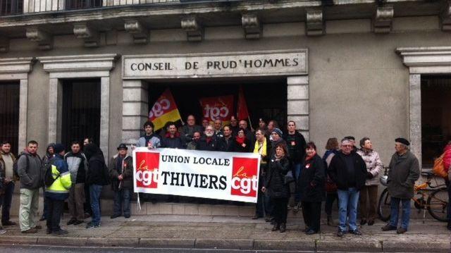 """Devant les Prud'Hommes de Périgueux, la CGT de MEM dénonce une """"chasse aux sorcières"""" anti-syndicat"""