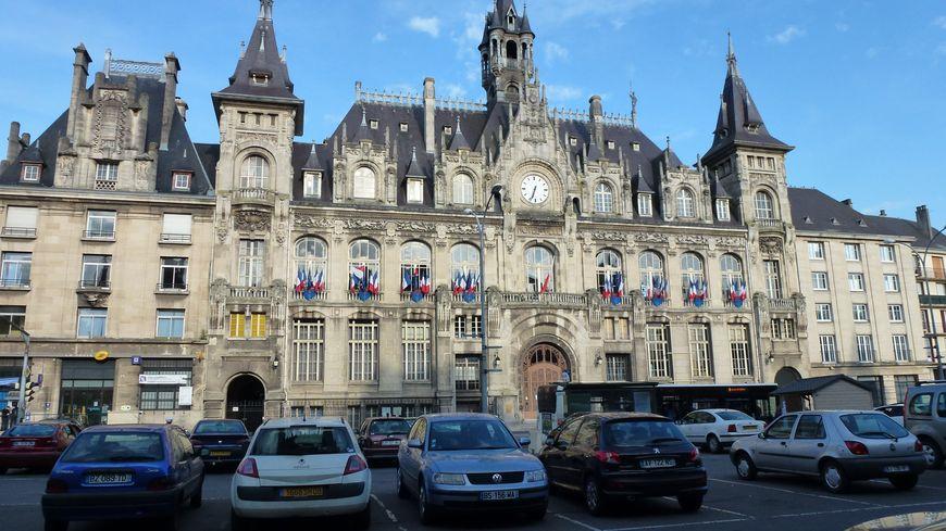 L'hôtel de ville de Charleville-Mézières