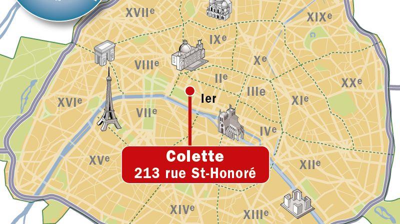Deux hommes armés ont braqué samedi matin la boutique de luxe Colette à Paris emportant un butin estimé à 600.000 euros