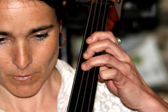 La violoncelliste Evelyne Caillet