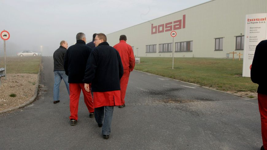 L'usine Bosal le Rapide à Beine-Nauroy dans la Marne