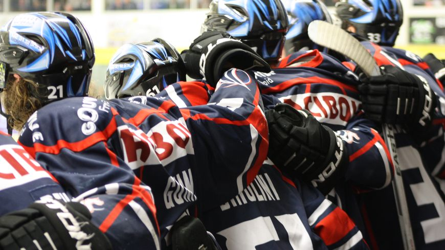 hockey caen joueurs soudés