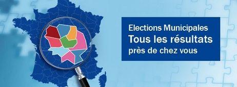 Municipales Bouton Article Carte - Radio France