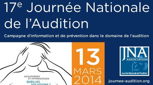 Logo 17ème journée nationale de l'audition