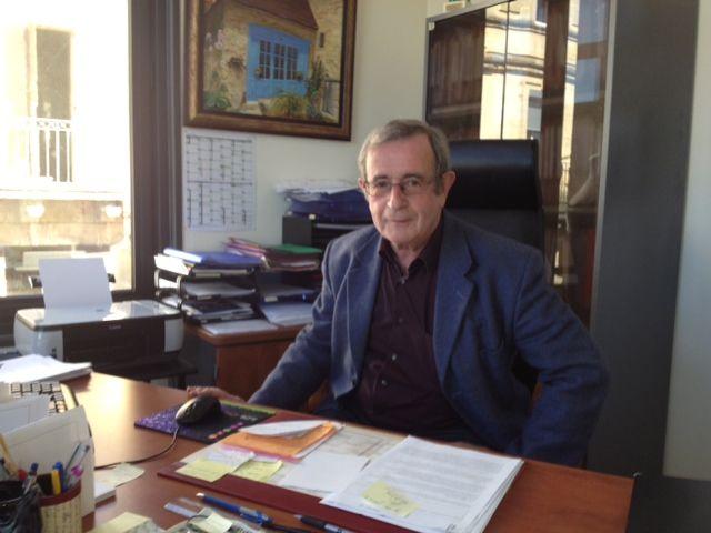 Gérard Labrousse, le maire sortant socialiste du Bugue - Radio France