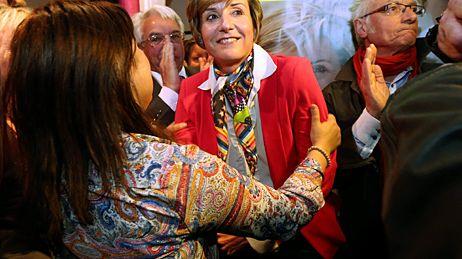 Cécile Helle, nouvelle maire PS d'Avignon
