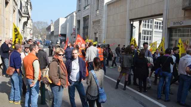 grève Poste Besançon