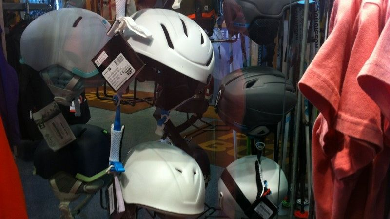 Les ventes de casques pour les skieurs en forte progression