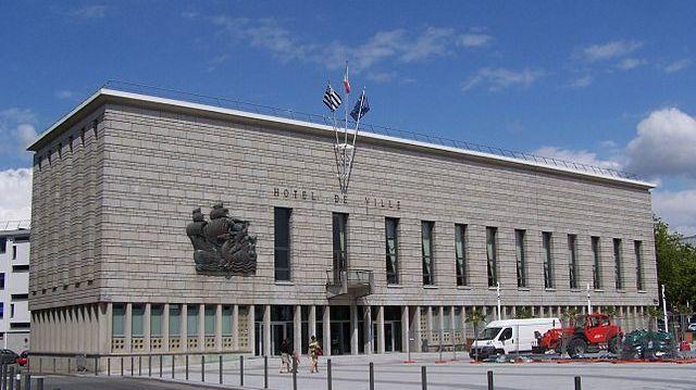 La mairie de Lorient