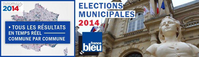 municipales bandeau résultats - Radio France