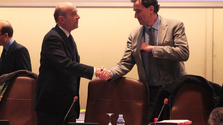 Bientôt le passage de témoin entre Alain Juppé et Vincent Feltesse à la CUB ?
