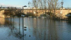 Le 1er février, la Garonne était déjà sortie de son lit à Bordeaux