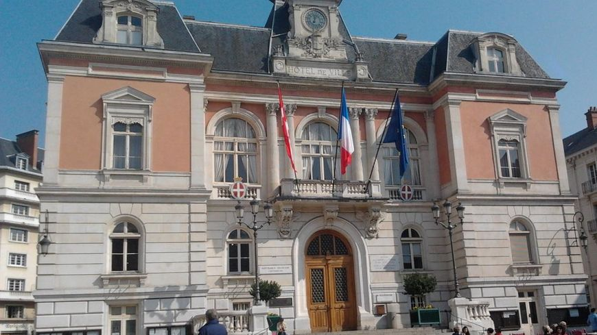 La mairie de Chambéry.