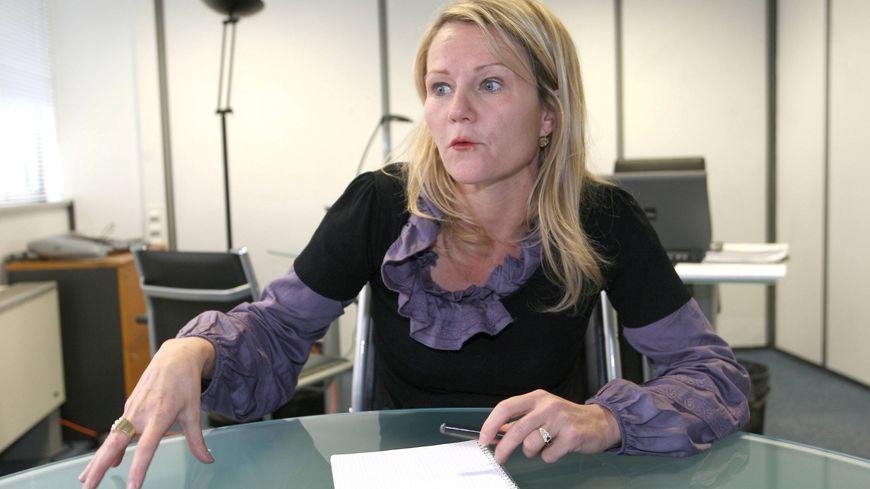 Fabienne Brugère, colistière du socialiste Vincent Feltesse.
