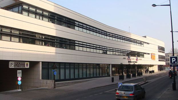 L'hôtel de ville de Bourges