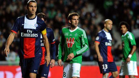 Zlatan Ibrahimovic et les siens avaient été tenus en échec à Geoffroy-Guichard lors de la 11e journée