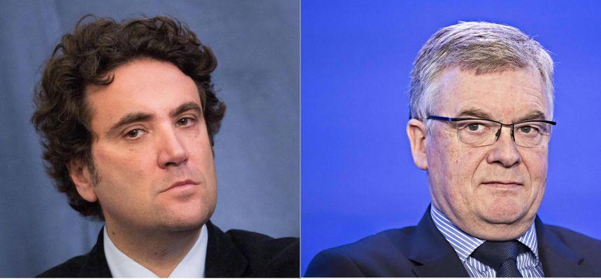 Philippe Buisson (à g.) et Jean-Paul Garraud (à d.) sont en ballotage avec Charles Pouvreau et Gonzague Malherbe  - Maxppp