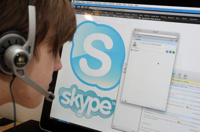 Skype dans le collimateur de la justice, selon l'Express