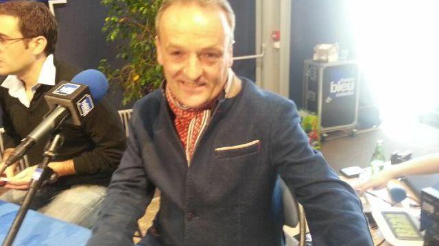 Denis Féret, candidat FN aux municipales à Granville.