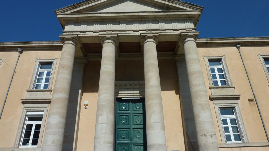 Le palais de justice de Privas en Ardèche.