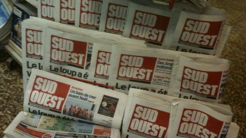 Journal Sud Ouest (illustration)