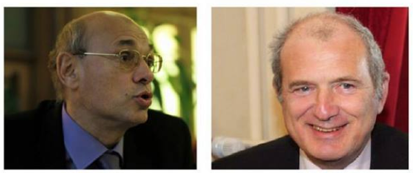 Jean-Luc Schaffhauser (RBM-FN) et François Loos (UDI)