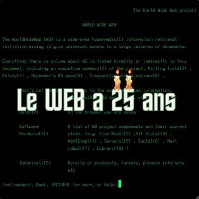 Le World Wide Web a 25 ans