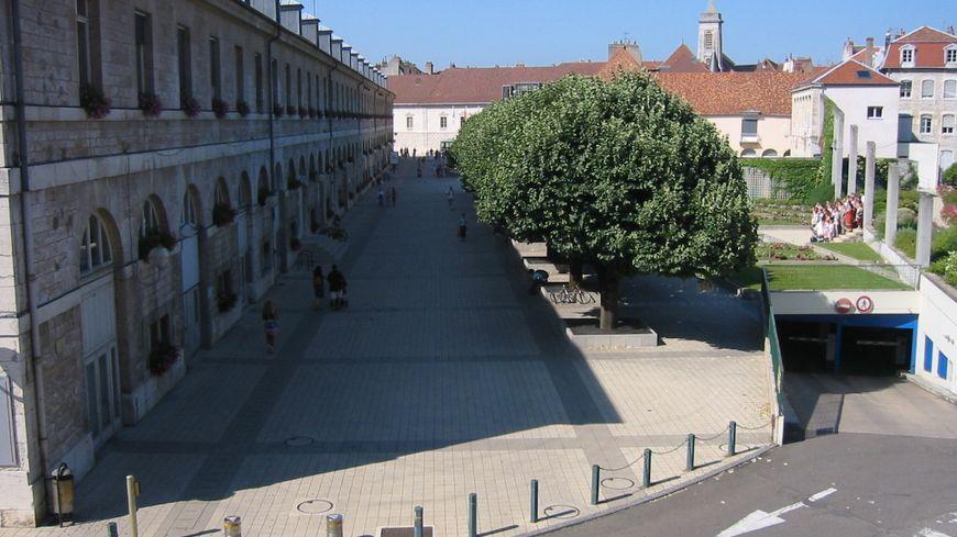 la mairie de Besançon
