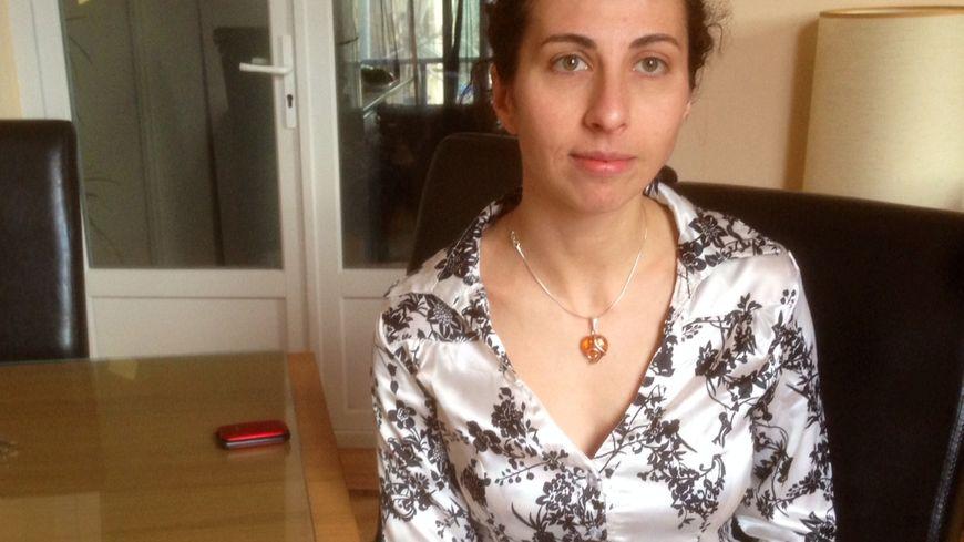 Ana-Maria Lumanaru, candidate Roumaine à Annonay.