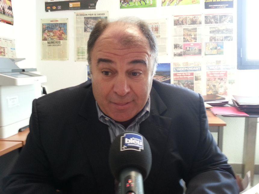 Bernard Guasch, le président des Dragons Catalans - Radio France - Cyrille Manière