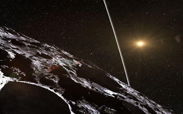 L'astéroïde Chariklo