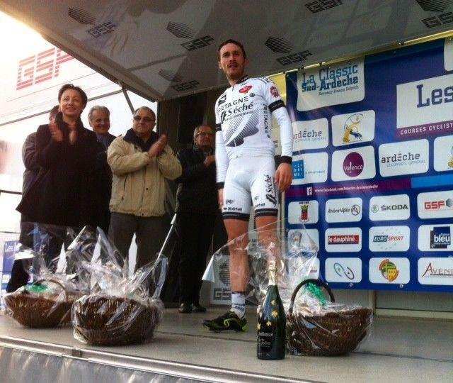 La victoire de Florian Vachon aux Boucles Drôme Ardèche  - Radio France