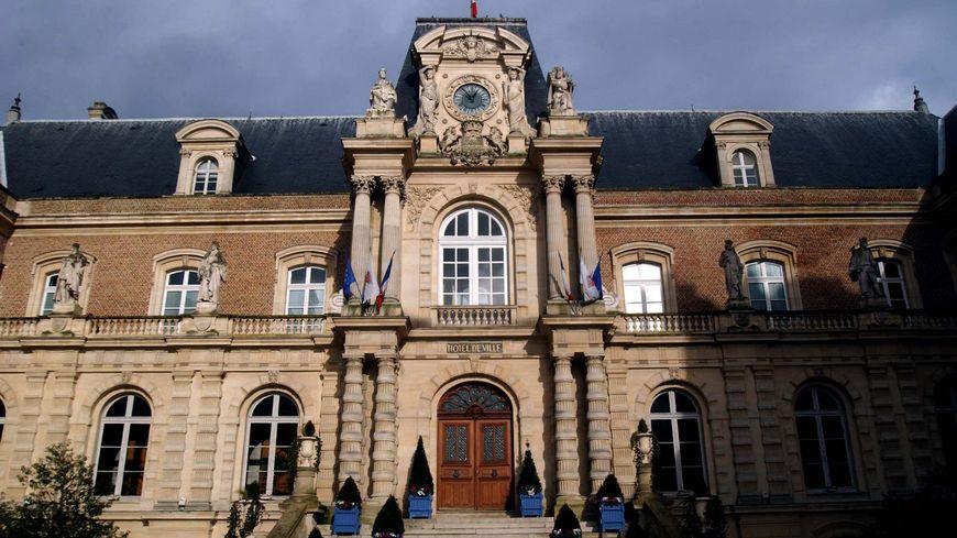 L'hotel de ville d'Amiens dans la Somme