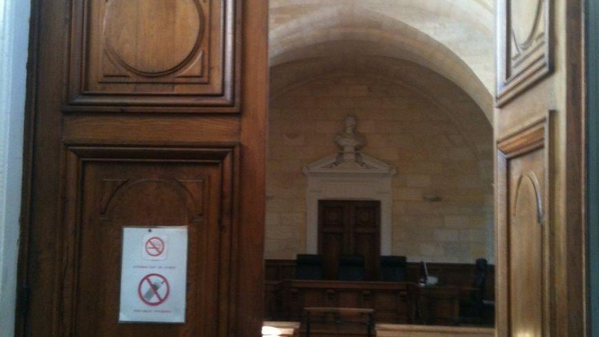 L'intérieur du tribunal de Libourne