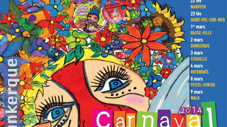 Affiche du carnaval de Dunkerque