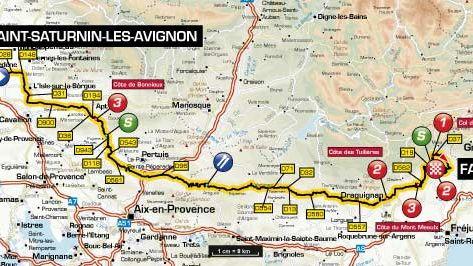 Restrictions de circulation au passage du Paris-Nice