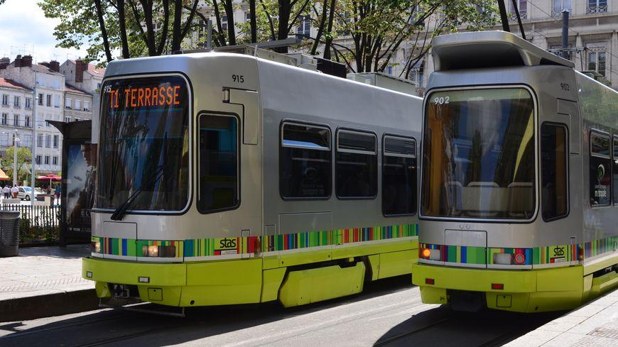 Le tram stéphanois