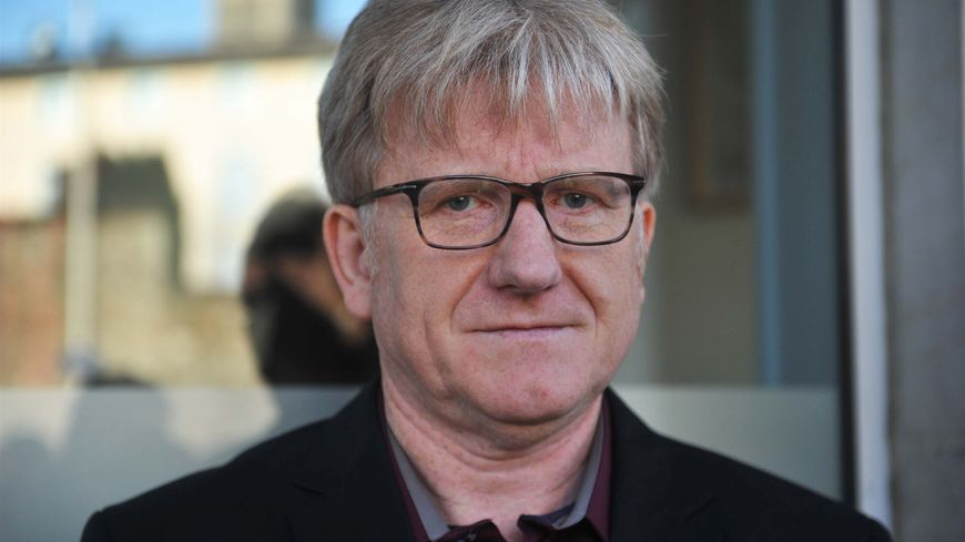 Gilbert Bernard, tête de liste Front de gauche à Limoges.