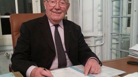 Le maire Jean Créno