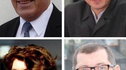 Les quatre candidats à Morlaix