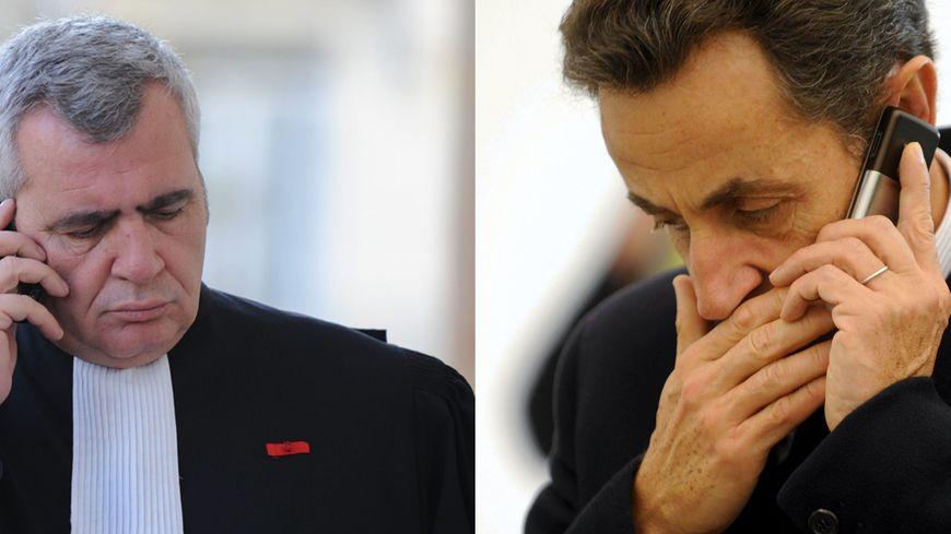 Thierry Herzog et Nicolas Sarkozy - montage