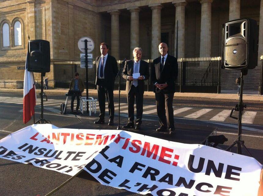 Vincent Feltesse, Albert Roche et Alain Juppé ont pris la parole  - Radio France