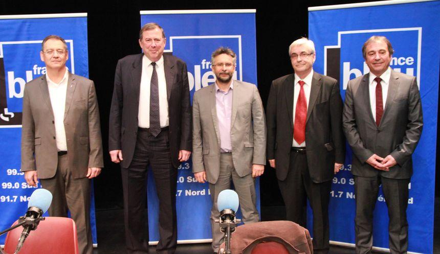 Débat spécial Municipales à Bergerac : la photo des candidats - Radio France