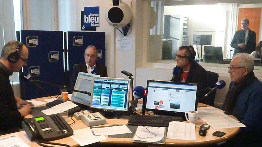 """Débat spécial """"municipales à Laruns"""" sur France Bleu Béarn"""