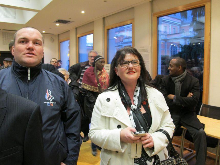 Martine BInder Mulhouse 1er tour - Maxppp