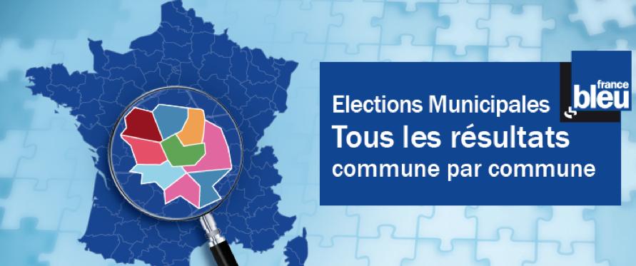 Les résultats complets du premier tour des municipales en Alsace