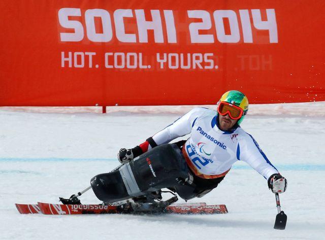 le skieur français Frederic Francois à Rosa Khutor