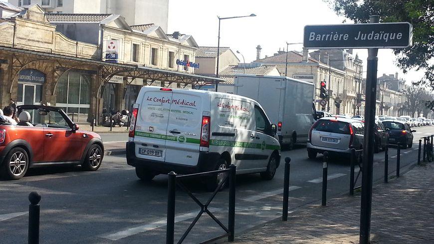 Les boulevards à la Barrière Judaïque, à Bordeaux